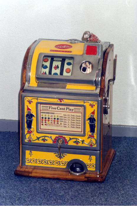 Zapping game machines